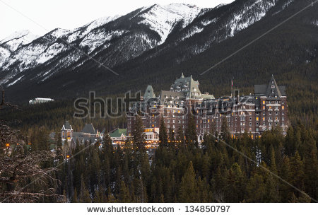 stock-photo-banff-fairmont-springs-hotel-is-an-historic-landmark-in-banff-national-park-alberta-canada-134850797